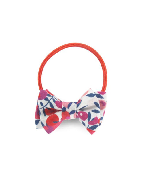 NEW! Mini Double Bow Elastic - Liberty Rouge (3430534742099)