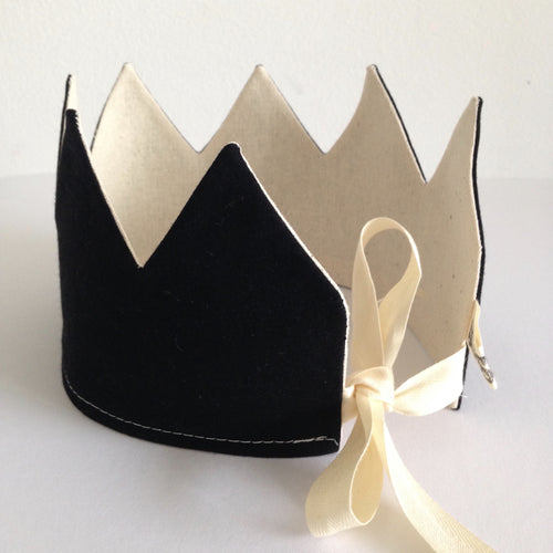 NEW! Reversible Black Crown