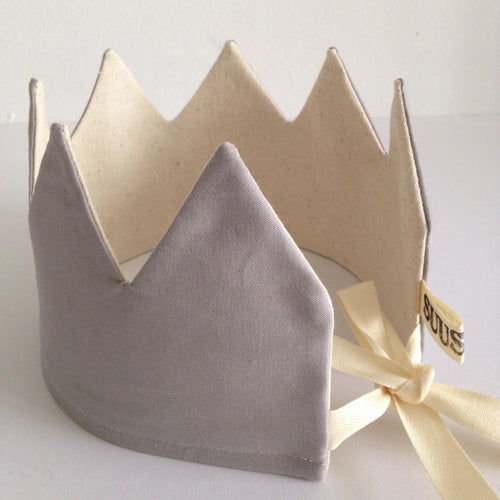 NEW! Reversible Gray Crown