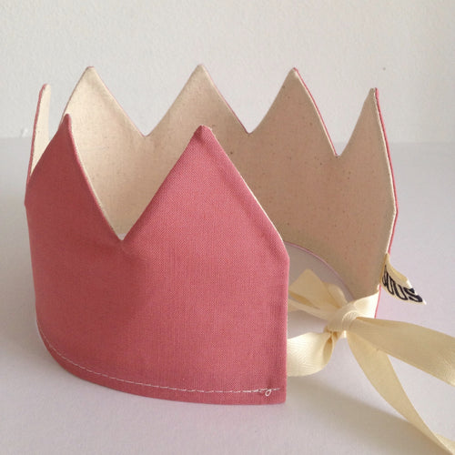 NEW! Reversible Pink Crown
