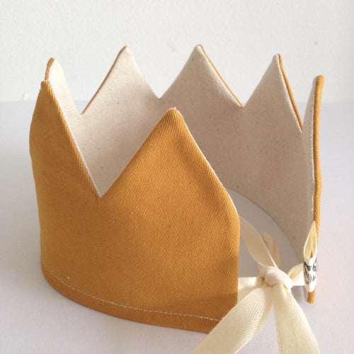 NEW! Reversible Yellow Crown