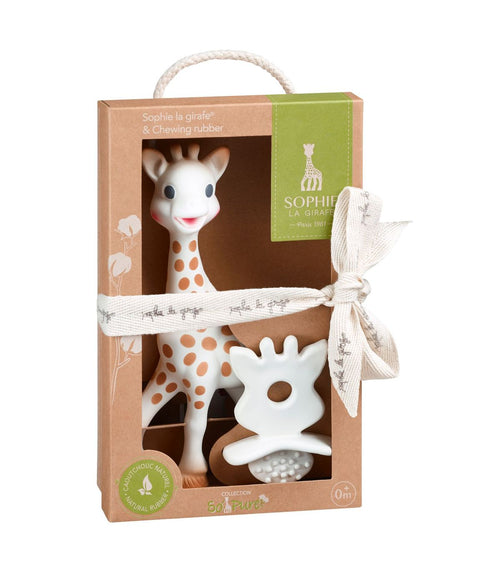 So'Pure Sophie La Girafe & Teething Rubber (4675625025619)
