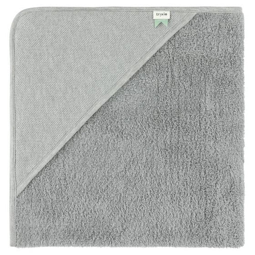 Hooded Towel - Grain Grey