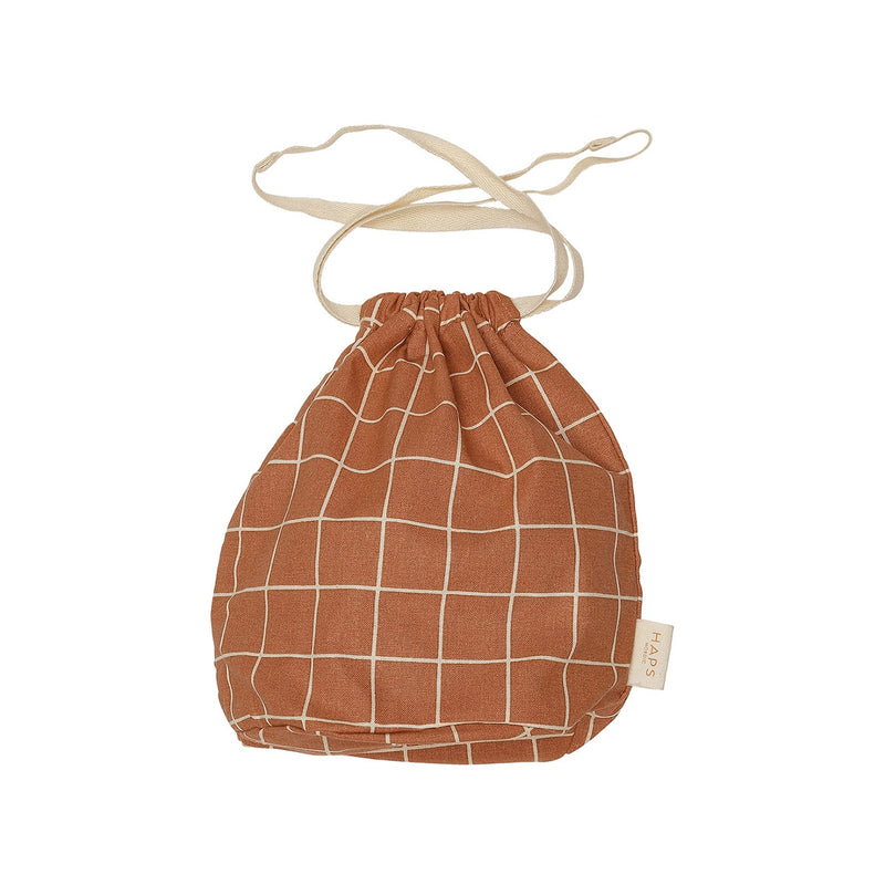 Multi Bag Small - Terracotta Check (4474751058003)