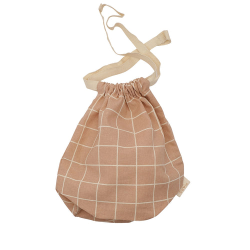 Multi Bag Small - Rose Check (4474749812819)