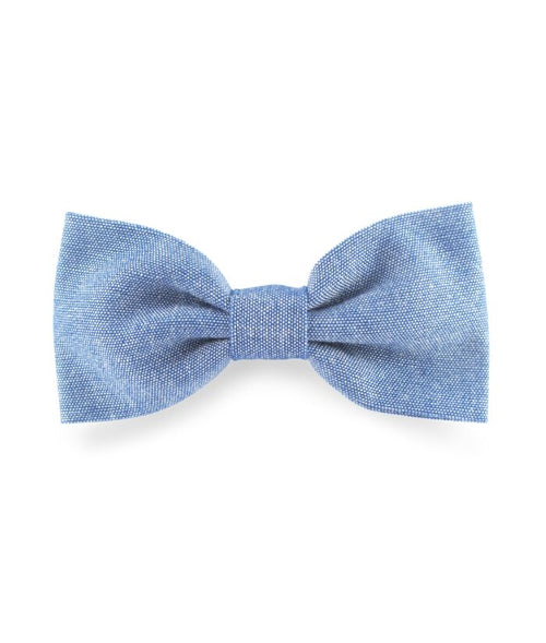 NEW! Denim Bow Clip (3430533398611)