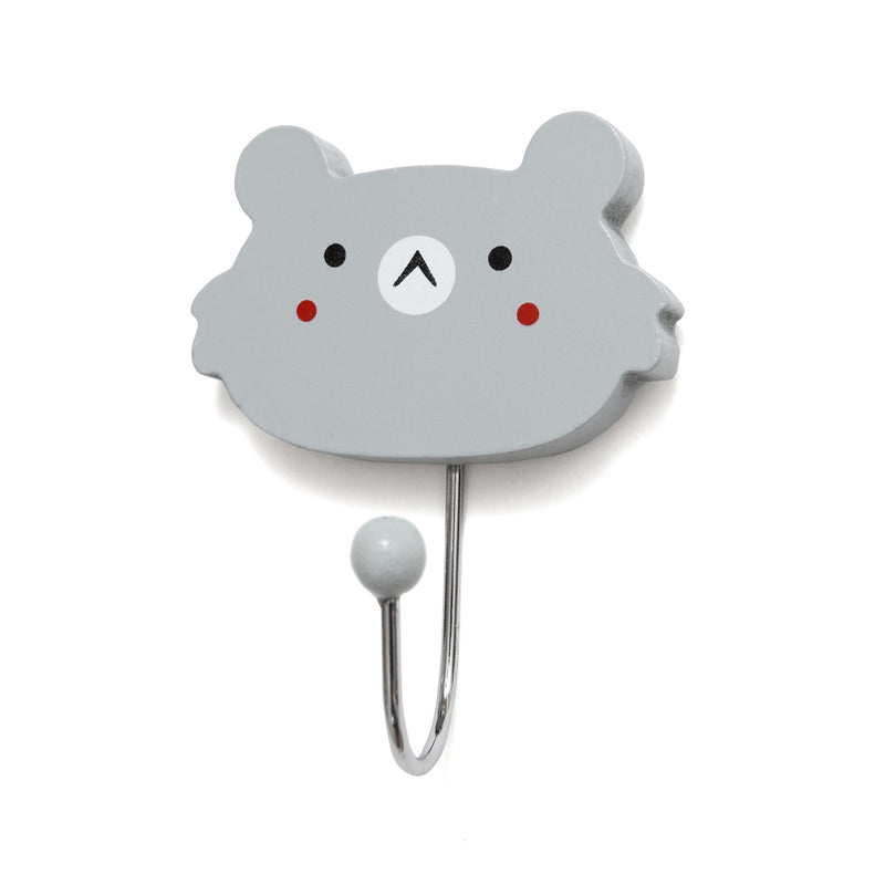 Clothes Hook - Koala Face (4369435361363)