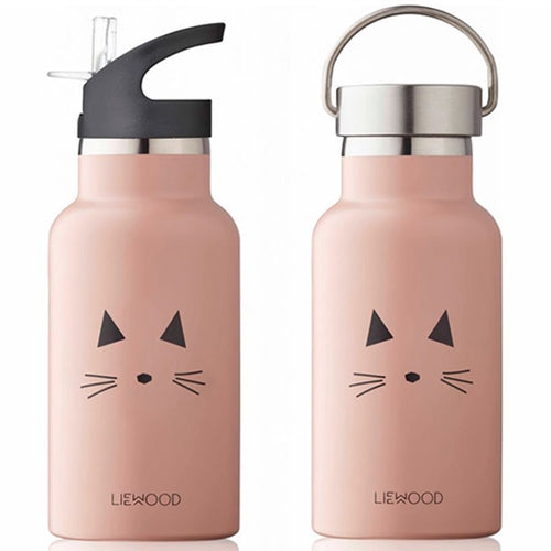 Anker Water Bottle - Cat Rose (4482693103699)