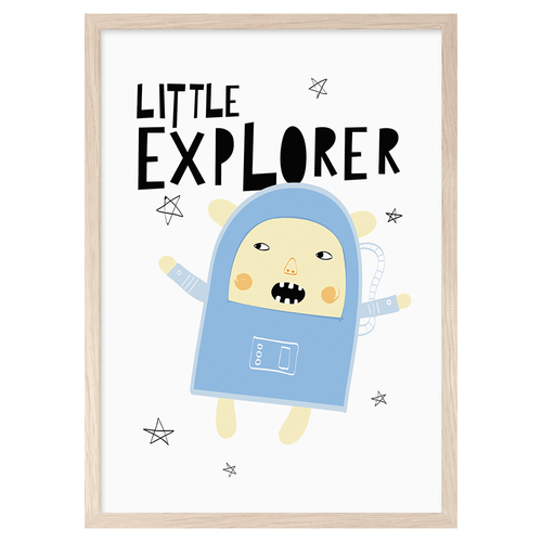 NEW! Poster Little Explorer (43673059340)