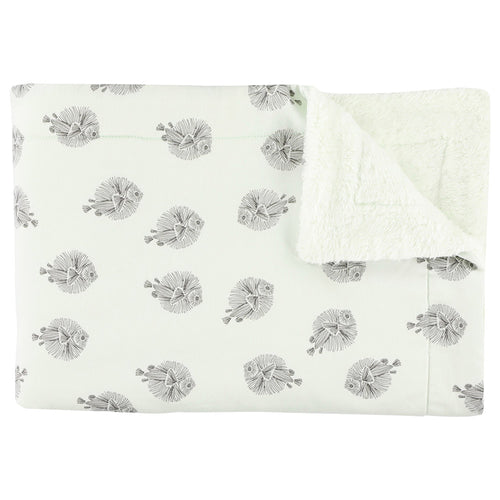 Fleece Blanket (75 x 100 cm) - Blowfish (4649861349459)