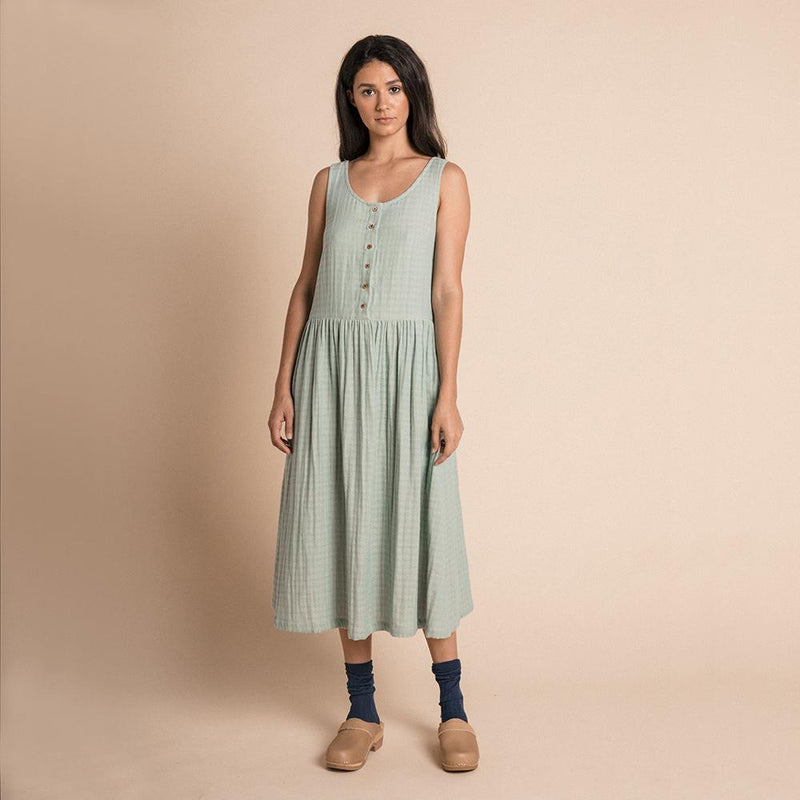 Cassia Dress - Azure Harlequin (4477779411027)