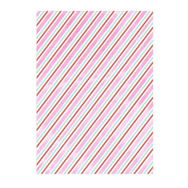Iridescent Stripe Gift Wrap Roll (4711906836563)