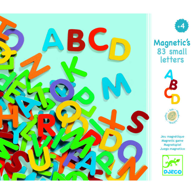 83 Small Magnetic Letters (4419899490387)