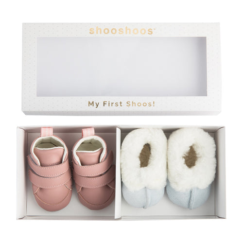 My First Shoos - Inspiration Gift Set (Pink) (4341985149011)
