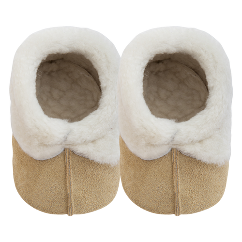 Snuggle Sheepskin Slippers - Yellow