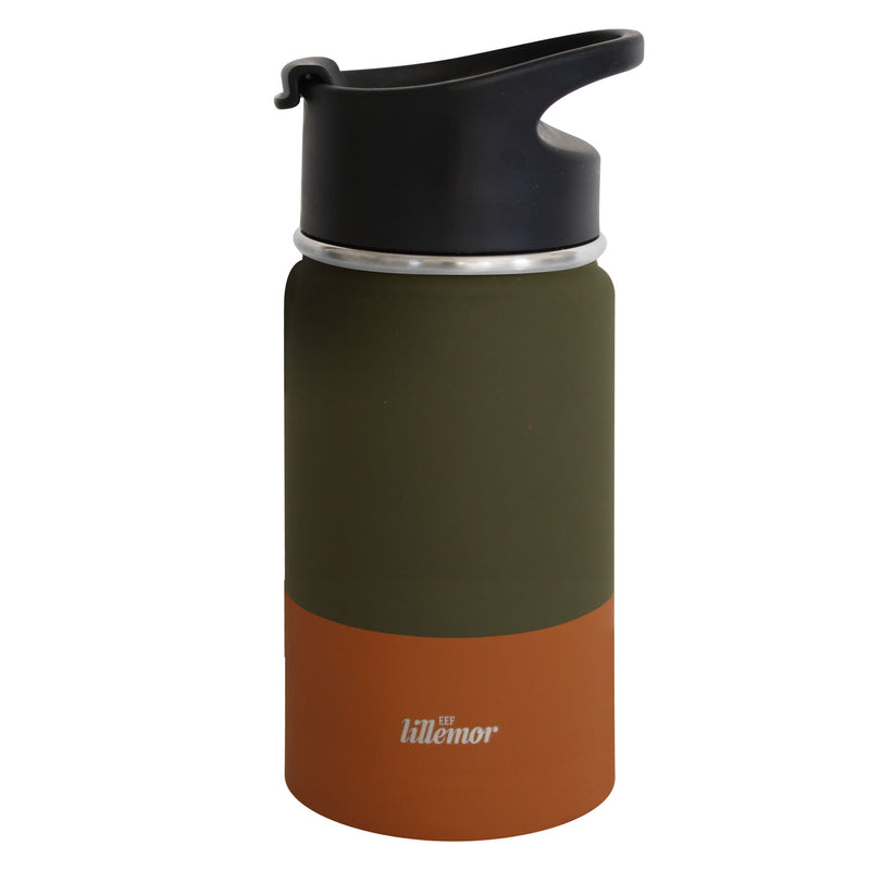 Stainless Steel Tumbler - Green/Palm (4681850945619)