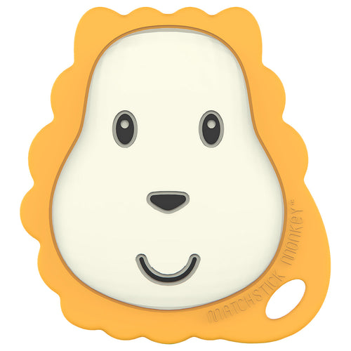 Flat Face Teether - Ludo Lion