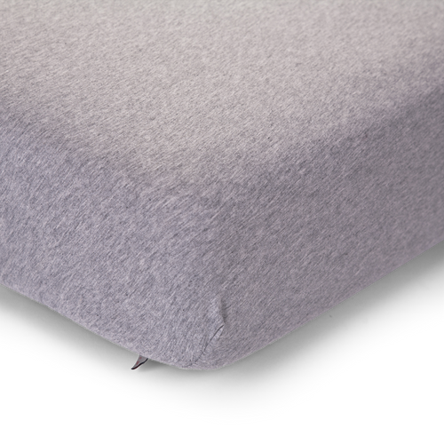 Bed Fitted Sheet - Jersey Grey (4721451335763)