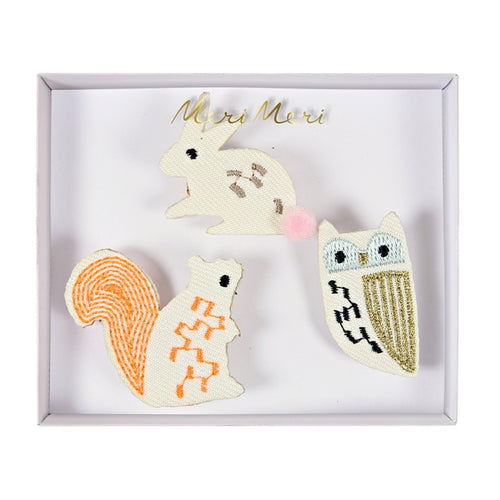 Brooches - Woodland Creatures (4355776413779)