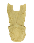 Zinnia Romper Yellow (4483316908115)