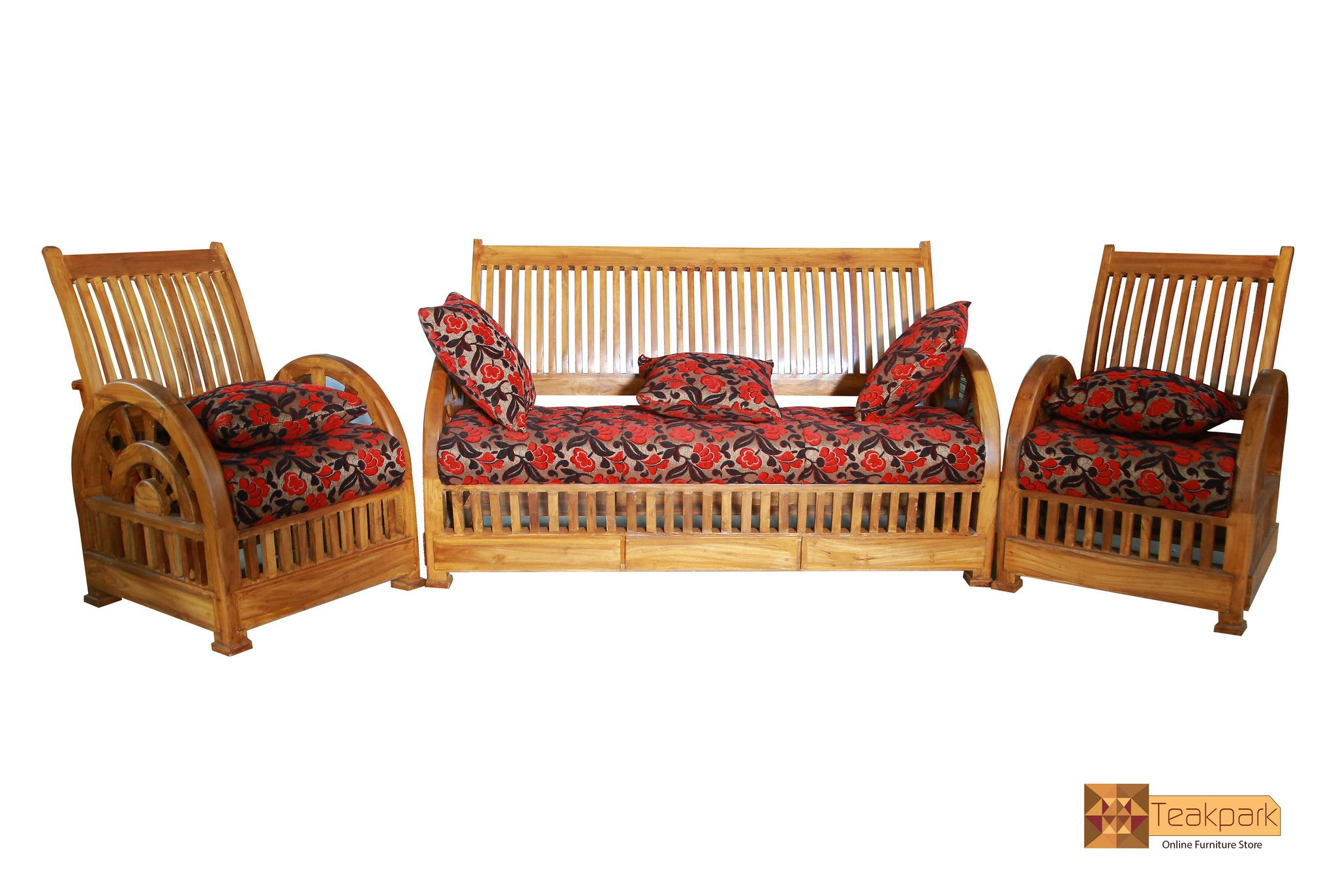 Verona Teak Wood Sofa Set 3 1 1 Seater Teakpark