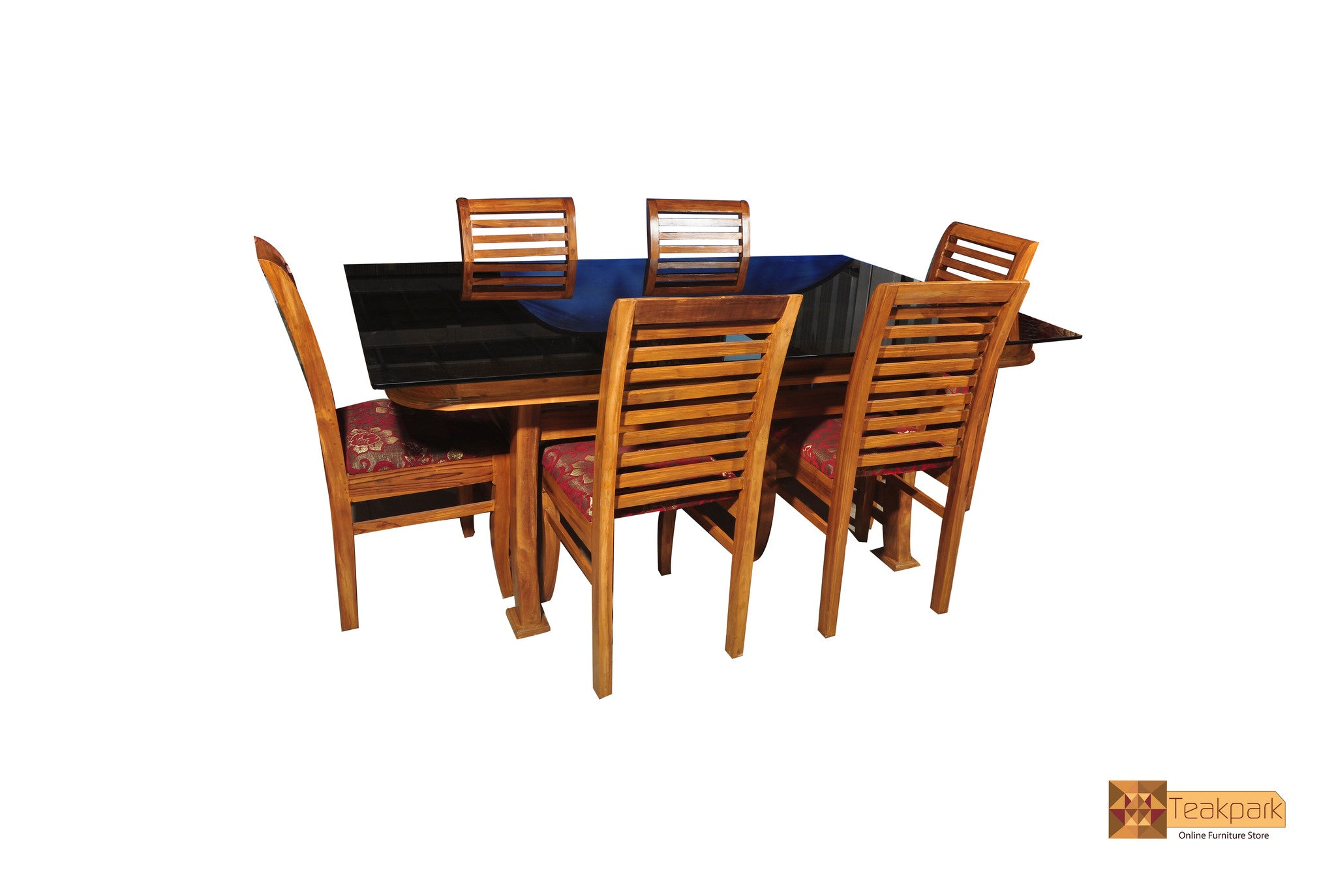 ... Colorado Teak Wood Dining Set   6 Seater ...