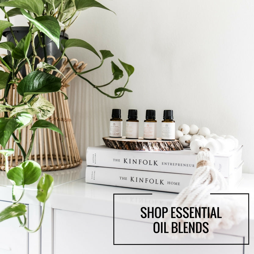 Pure Essential Oil Blends.  Shop Scented Drops