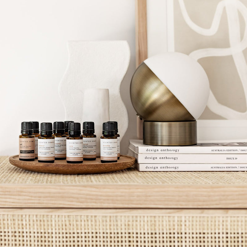 Our Scented Drops set of Pure Essential oil blends for home or work, Shop Scented Drops online Free Shipping on all orders over $80