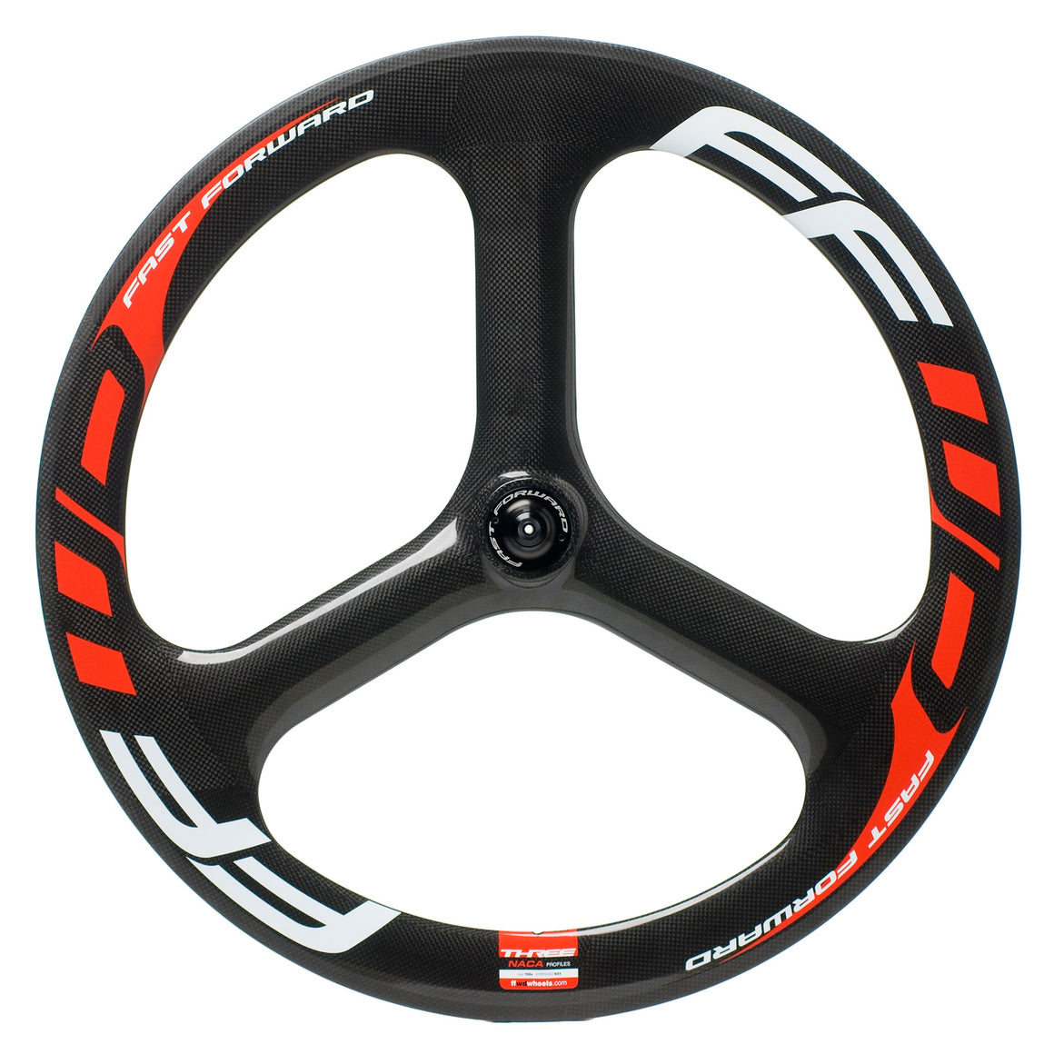 FFWD - Carbon Tubular Three Spoke - Front Wheel - Bike Wheels