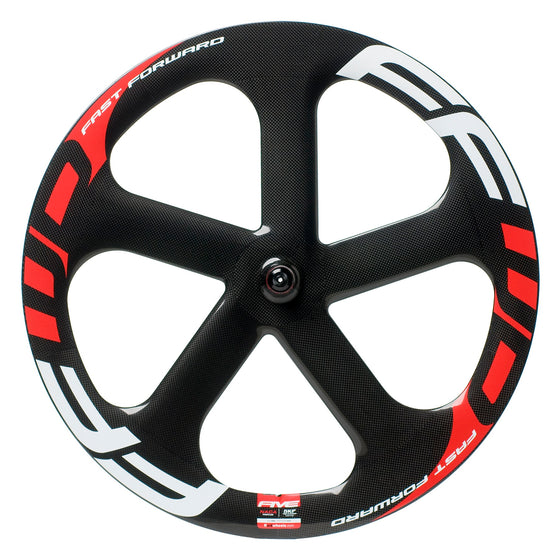 Fast Forward Carbon Tubular Five Spoke - Front Wheel - Bike Wheels