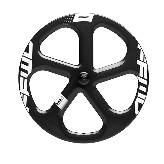 FFWD - Carbon Tubular Front Five Spoke (Five-T 1K) - Bike Wheels