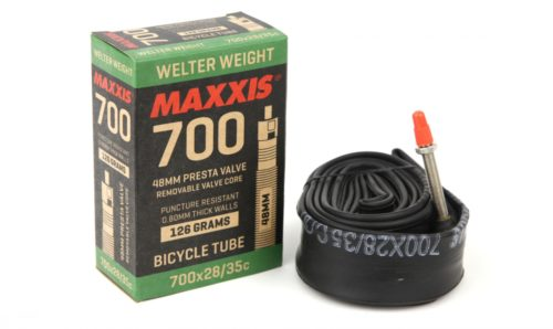 Maxxis Welterweight Road Tube - 700 x 18/25c 48mm French Valve - Bike Wheels
