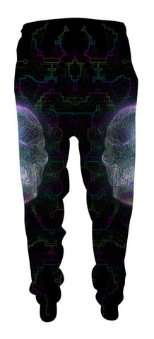 Crystal Skull - Joggers-Joggers-Poly-Gone