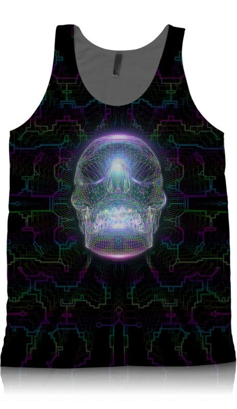 Crystal Skull Tank-tanks-Poly-Gone