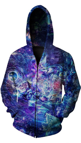 Transcension Zip Up Hoodie