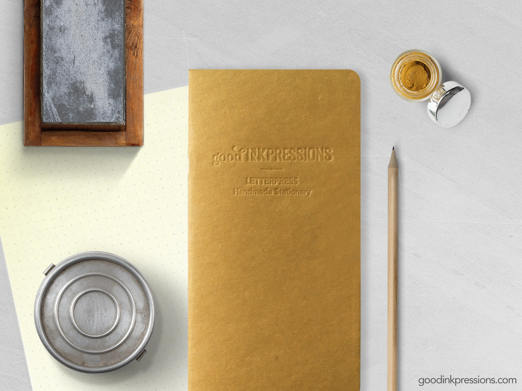 Field Notes 60 pages, 52gsm Tomoe River CREAM - 006  - handmade by goodINKpressions