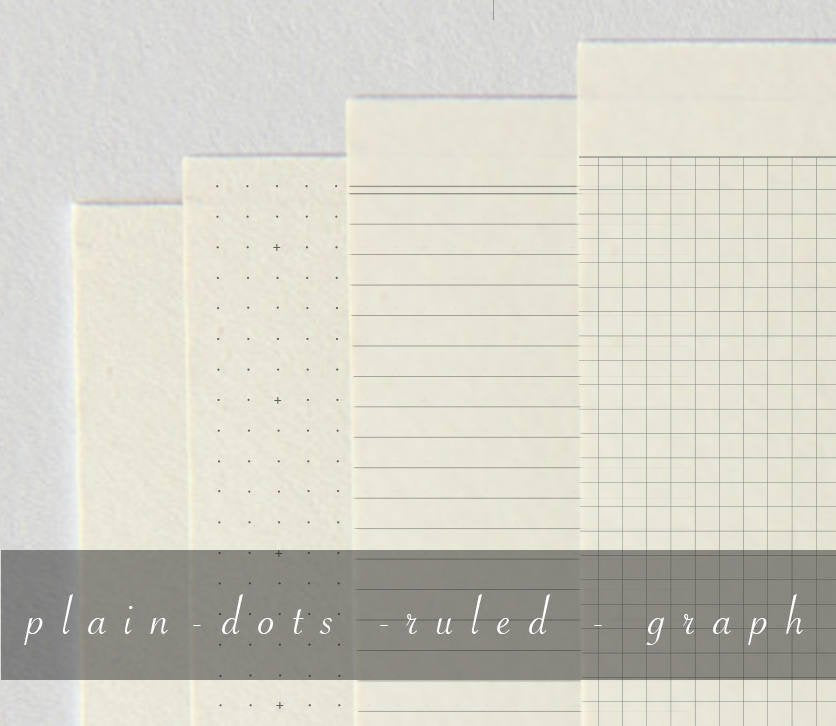 60 pages, 52gsm Tomoe River CREAM - 006  - handmade by goodINKpressions