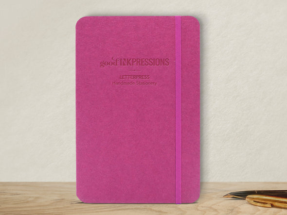 120 Page Notebook - Splendorgel paper  - handmade by goodINKpressions