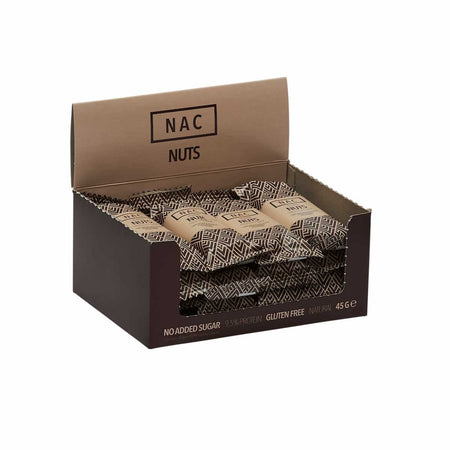 NAC BAR Protein Bars Nuts / 16 barer