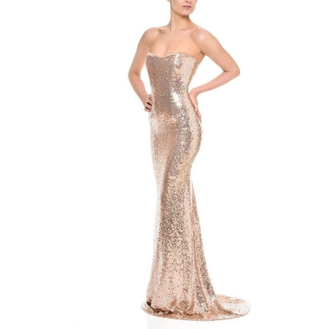 Mollie Gown - Long Dresses, - Nadine Merabi - Aloha Doll - elegant womens evening wear dresses and gowns