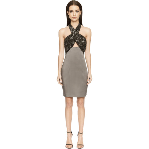 Primrose Dress - Graphite - Short Dress, - Aloura London - Aloha Doll - elegant womens evening wear dresses and gowns
