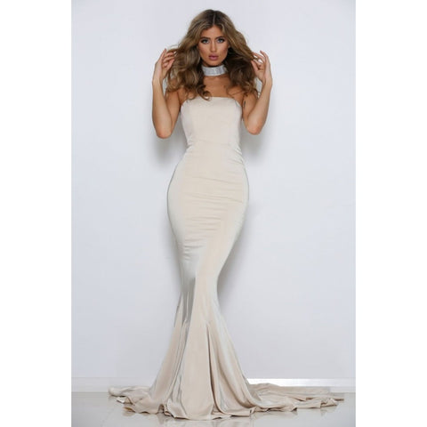 Cavalli Gown - White - Long Dresses, - Abyss by Abbey - Aloha Doll - elegant womens evening wear dresses and gowns