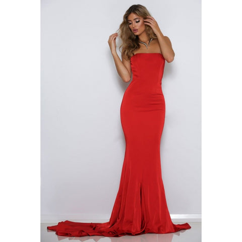 Cavalli Gown - Red - Long Dresses, - Abyss by Abbey - Aloha Doll - elegant womens evening wear dresses and gowns