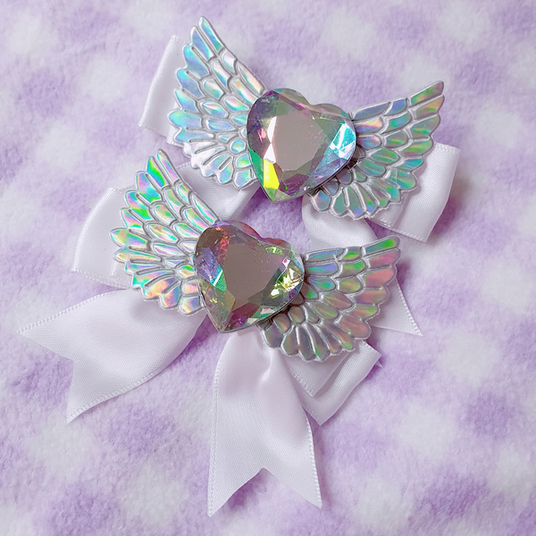 Magical Angel Bows ~ Pink or White