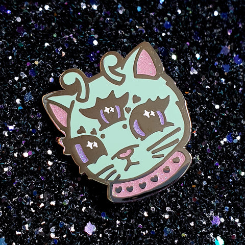 Space Kitty Enamel Pin