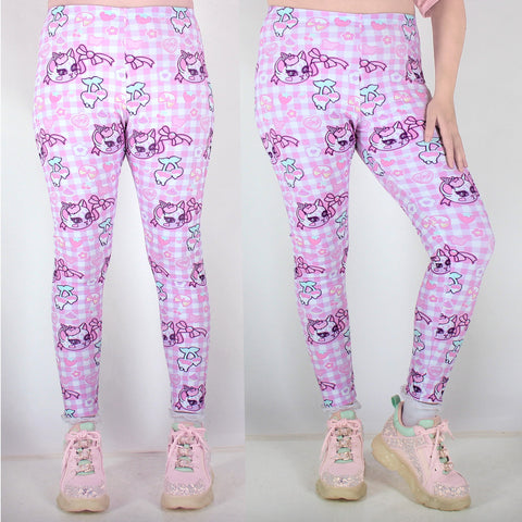 Roxie Sweetheart Cherry Delight Leggings