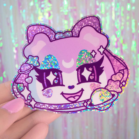 Judy's Pastel Galaxy Sparkly Sticker