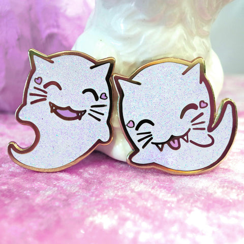 Kitty-Boos Enamel Pin Set