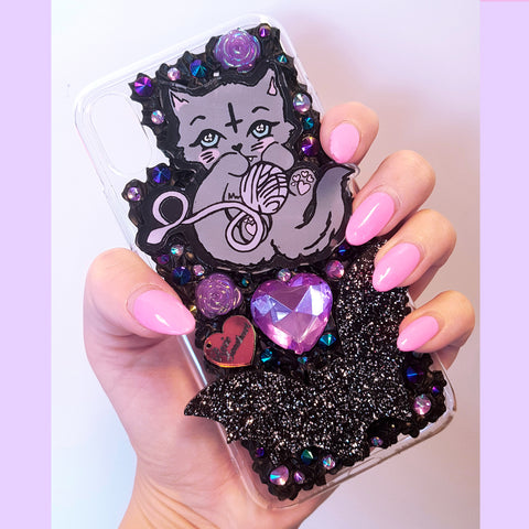 Salem Kitty Phone Case ~ iPhone X