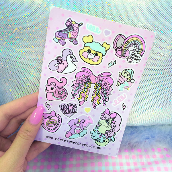 Confetti Club Sticker Sheet